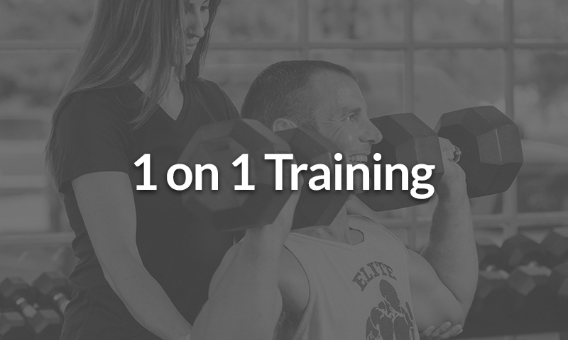 1 on 1 personal training in San Diego